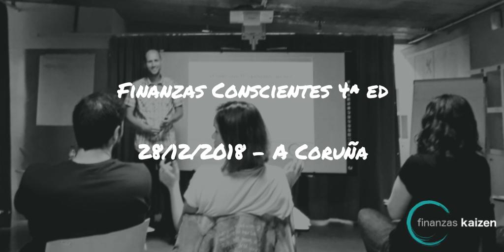 Finanzas Conscientes 4ª edición - A Coruña
